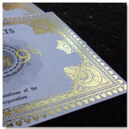 Ticket del Hogwarts Express