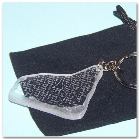 Grail Tablet keychain (transparente)