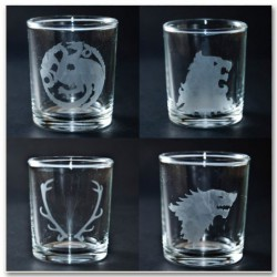 A Game of Thrones shot glass set (4)