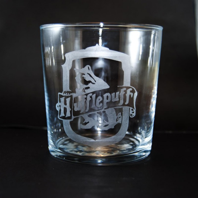 Hufflepuff's glass