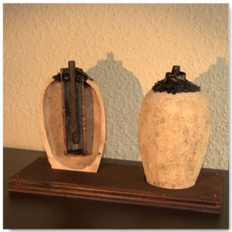 Pila de Bagdad (Dos versiones con peana)