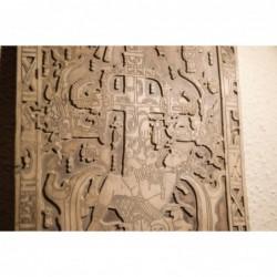 Pakal's tombstone