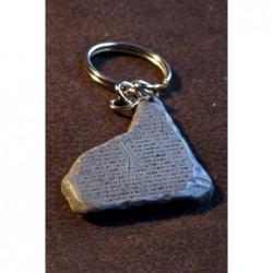 Llavero Tabla del grial (versión piedra)